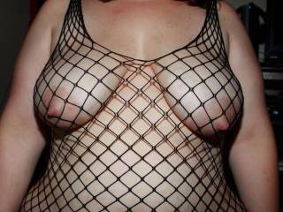 WoW!!  I am speechless admiring wifes gorgeous body so very sultry hotttt in her new fishnet dress and ooohhh those magnificent mouth watering erect nipples mmmmmmmmmmmmmmmmmmmmm my tongue is aching to play!!