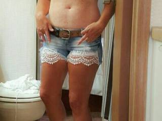 Like my new sexy shorts?
