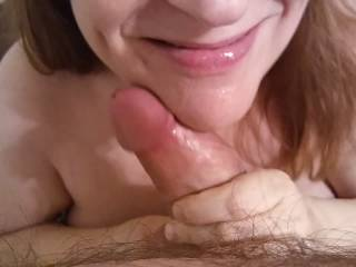 Is there anything better than finishing off a cock in your mouth?  I just love it! Hubby says my lips look luscious with cum gloss. My video will prove my love of cock!