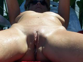 smooth is so much better,for oral!!you have a lovely pussy,mmmmmm!!