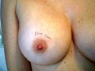 WOW!  You have the most beautiful tits ever not to mention your deliciously hard nipples!!