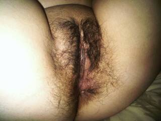 Took this pic rite before I got fucked by a big fat long dick my pussy was so wet jus looking at that big cock mmmmmmM