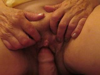Nice fuck...she really seems to enjoy your cock...