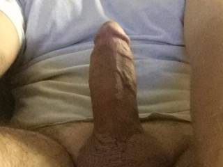 fat cock, 6 inches around