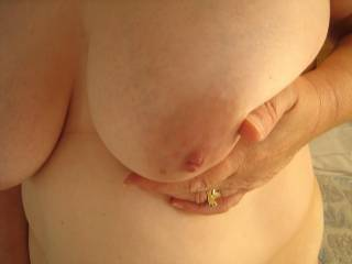 I want you to wrap those gorgeous titties around my stiff cock and let me stroke to an amazing tribute between them!