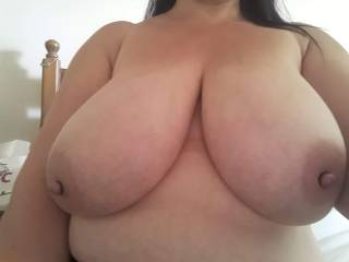 My big tits with nipple rings