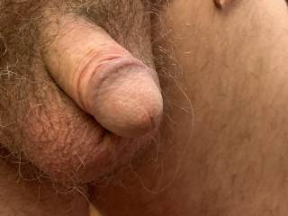 I like looking at cocks especially hanging ones with nice balls. Hopefully you like this one got allot more to show