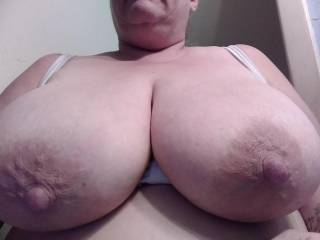 Cum all over my big tits