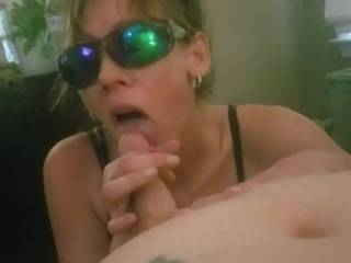Milf handles this cock and loves it