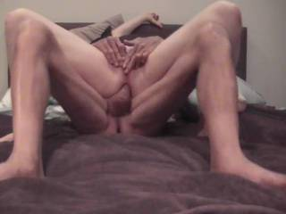 A good old fashioned arse fucking in reverse cowgirl and finished off with the doggy position this girl loves it up the arse
