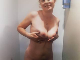 I need lots of cum all over these to massage in to them...