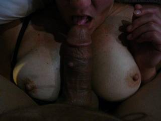 love to taste affter his cock has been in your sweet pussy yes