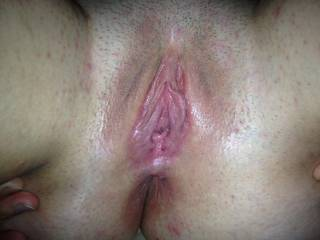 Snapshot right after my pussy has been well used.