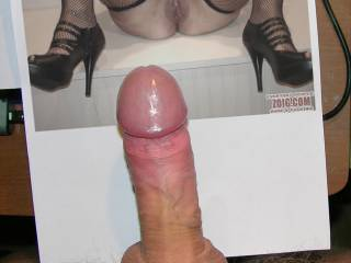 Mmmmm, I love that gorgeous hard cock....mmmm, she made you nice and hard.  I'd like to make it soft again.  MILF K