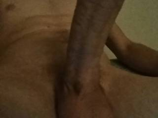 Took this last night before spraying a nice big load. Hope you like it