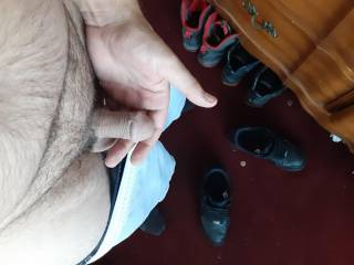 Small cock in my hand