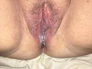 Kates well fucked sweet pussy dripping a hot double creampie🍆💦💦🍆💦💦💦