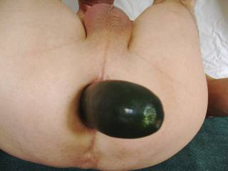 Glad to know other guys have fun with a cucumber in their ass. Hardupdude, you obviously love vegetables up you butt. You have great videos, and your smooth balls and beautiful cock are really hot.
