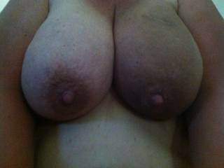 I'd love to suck on your beautiful tits