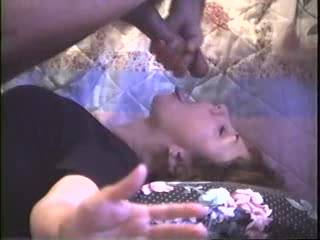 Cheatin MILF Erica again...shes got a fascination with cum..so after i pulled it out of her ass, did pushups into her mouth till i covered her face..u like?