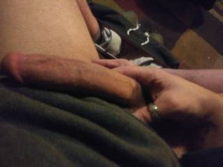 Sitting around taking randoms pics of my cock