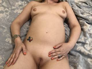 Just after the fucking, hubby came home and fucked me with our neighbors cum in me.  He loved filling me up with even more cum.  I can\'t get enough!