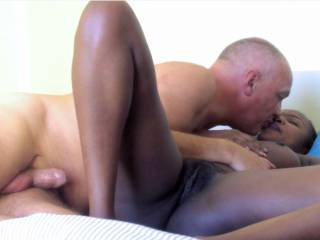 Enjoy pics from some African interracial fucking actions