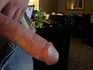 Another angle of the cock me and his wife shared.  My man got taken care of too.