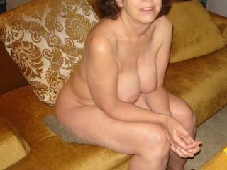 Nice hanging tits.