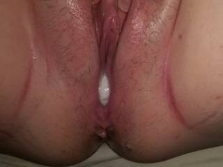 I just love feeling hot cum deep in my pussy.