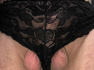 Do you think my new panties look good on me