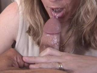 my cum shooting right in her mouth