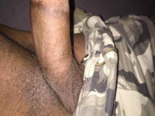 My black dick about getting hard