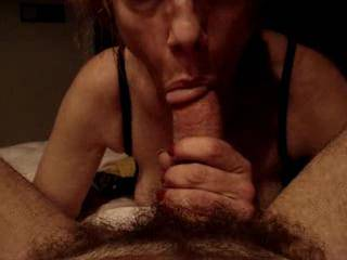 OMG-the sounds and eye contact, but more over she truly sucks cock-I love her suction-she truley has made cocksucking an art!