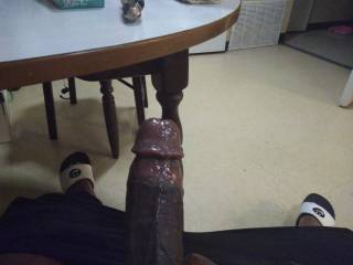 ...leaking pre-cum all over in West Virginia....hmu looking for a married freaky wife to clean this dick up