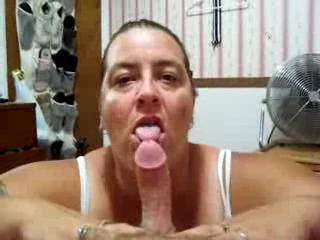 Love to have her using those big tits and hot cock sucking mouth on my hard cock!