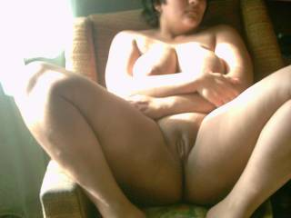 """Lovely, all naked and ready for some horny action or? We'd love to explore and discover your sexy """"bodyparts""""!!!!!! yummie!"""