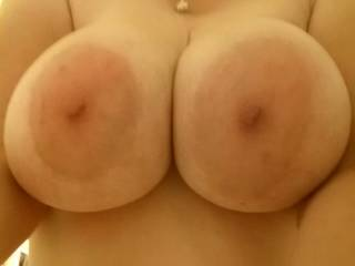 I want to suck them tit fuck them eat your pussy playing with fuck you for hours sucking them and then jacking off all over them and your gorgeous face and mouth