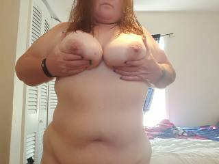 I'm Definitely up for it.  I'd love to suck and lick that gorgeous body all over before i fill you up with my dick. Let me know when you're ready,  sexy