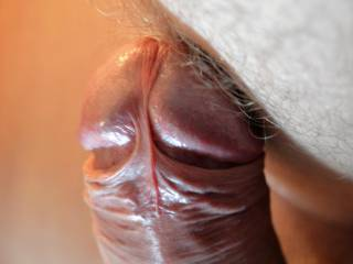 I like your nice uncut cock --looks delicious !!