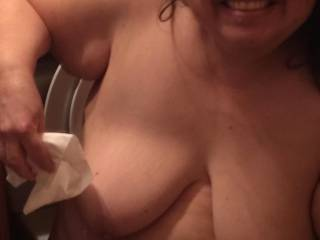 The Mrs loves fun in the shower!!!!