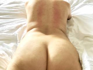 just showing my back side !!!!!!!