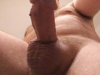 Freshly shaven