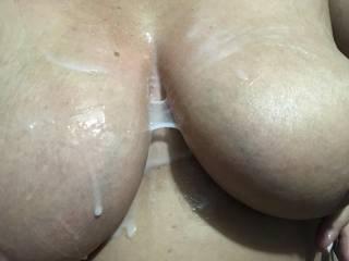 Cum lube is so much fun