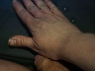 Naughtygrannys 78 yo pussy made me very horny and i came massively