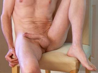 Want to be on my knees sucking your toes first then your sexy sac and finish off by sucking you till you fill my mouth with your tasty load!