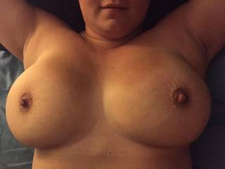 I want to kiss, lick, nibble, suck, fuck and cum all over your beautiful breast