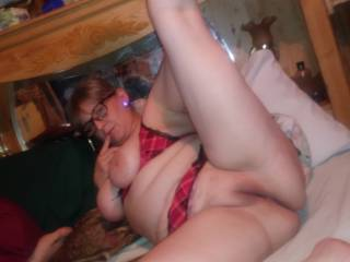 Sexy wife waiting for some dick
