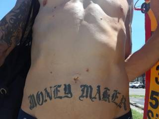 My tramp stamp on my cut up body wanna se more or video chat