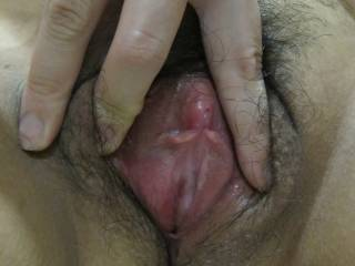 Mmm, I just love the feeling when, for the first time, I put my throbbing cockhead against a delicious pussy like yours. Then slide it inside and feel it stretch while the warmth and wetness of your pussy welcomes my hard cock